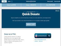 donativos web Obama