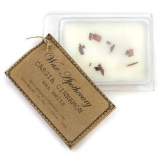 Wax Apothecary Cassia Cinnamon Wax Melts will fill the room with the scent of Warm CinnamonAromatherapy: comforting, energizing, warmingAll Wax Apothecary Cassia Cinnamon Wax Melts are handmade with pure soy wax & blended with crushed c. Aromatherapy Candles, Aromatherapy Oils, Essential Oil Blends, Essential Oils, Cassia Cinnamon, Beautiful Nail Designs, Perfume Oils, Smell Good, Wax Melts