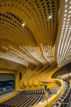 DesignDaily: Nanjing Youth Olympic Centre - Zaha Hadid - China