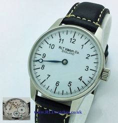 RLT Watch Co. - Mechanical One Handed Watch - RLT64 - White £149