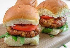 Chicken-Andouille Sliders