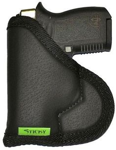 Sticky Holster LG-6S for Compact Semi-Auto Handguns 3-4″