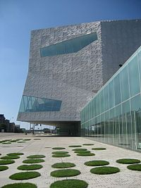 The Walker Art Center is a contemporary art center in Minneapolis, Minnesota. It is considered one of the top five museums for modern art. Directly across from the museum are the Minneapolis Sculpture Garden and the Cowles Conservatory.