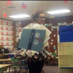 Book Fairy Costume... Perfect for a kindergarten teacher!
