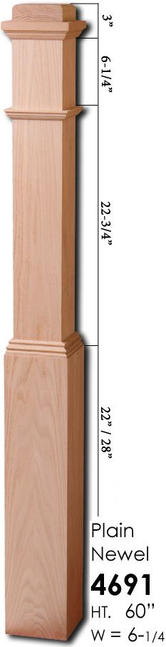4592 x Adjustable Box Newel Red Oak Cheap Stair Parts, Parts Of Stairs, Staircase Remodel, Adjustable Base, Newel Posts, Wood Stairs, Red Oak, Wood Boxes, Stairways