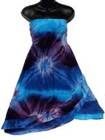 Blue Purple Convertible Skirts
