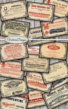 Hey, I found this really awesome Etsy listing at https://www.etsy.com/listing/469793117/poison-and-pharmacy-labels-printable