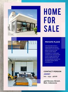 Kunir Professional Real Estate Flyer by letterhend on Envato Elements Real Estate Templates, Real Estate Flyer Template, Simple Powerpoint Templates, Flyer Design Templates, Real Estate Flyers, Brochure Design, Open House, Creative Design, Design Trends