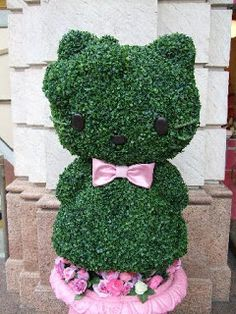 Hello Kitty Topiary