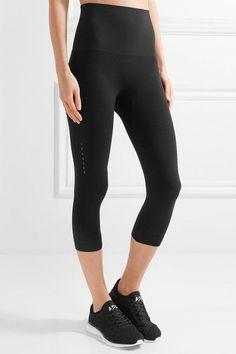 FALKE Ergonomic Sport System - Stretch-jersey Leggings - Black - medium