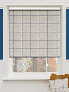 Choices Washington Still Blue Roller Blind