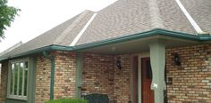 Gutters deter water from rushing off the roof over the entrances to your home and porch. Having gutters eliminates this at your home's entry. Not having them leaves all that enter your home in a rainstorm to be sopping wet.