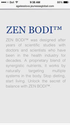 Zen Bodi  http://agelesslove.jeunesseglobal.com