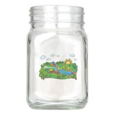 Summer in the Village. Haymaking Mason Jar - mason jars gifts ideas presents