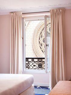 Hotel Bienvenue In Paris,  France Designed By Chloé Negre.