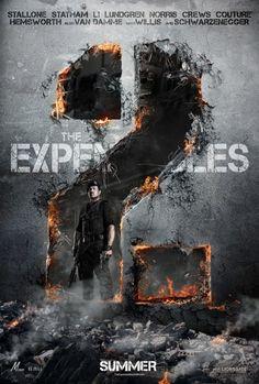 The Expendables 2 movie poster: Sylvester Stallone, Jason Statham, Jet Li, Dolph… Sylvester Stallone, Mel Gibson, Arnold Schwarzenegger, 2012 Movie, Movie Tv, Movie List, Movie Cars, The Expendables 3, Thriller