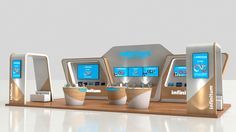 Stand Telmex on Behance