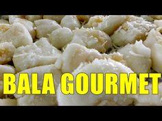 BALA GOURMET RECHEADA COM BRIGADEIRO DE BANANA COM COCO DELICIOSA POR MARA CAPRIO - YouTube