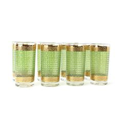 Green And Gold Glasses, $96, now featured on Fab.