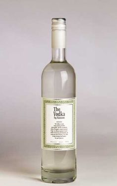 The Vodka by Ransom, includes triple malted barley & a two week filtration process with charcoal and limestone