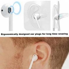 http://www.amazon.com/Bluetooth-Earbuds-Headphones-BT-Waves/dp/B0176HDRRM No pain and clearer sound