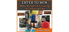 Enter to win a BBQ, Burger, & Grilling Accessories Kit from @waltonsinc  https://wn.nr/YKnPrd #giveaway