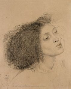 Recently discovered drawing by Frederick Sandys of Fanny Eaton. Rembrandt, Life Drawing, Painting & Drawing, Pre Raphaelite Brotherhood, Victorian Paintings, John Everett Millais, English Artists, Graphite Drawings, Italian Art