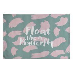Zoe Wodarz Float Like A Butterfly Woven Rug | DENY Designs Home Accessories