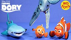 New Finding Dory Disney,Pixar Swimming Destiny & Marlin Vs Mosasaurus  U...