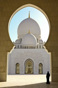 Abu Dhabi. Sheikh Zayed Grand Mosque