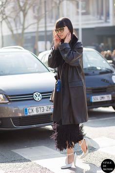 Leaf Greener Street Style Street Fashion Streetsnaps by STYLEDUMONDE Street Style Fashion Blog