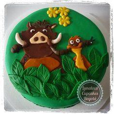 Torta Simon y Pumba - Simon and Pumba cake. Hakuna Matata!