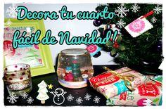 DIY Decora de Navidad fácil y rápido! (3 ideas + 2 express!)