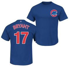 72653025357 Kris Bryant Chicago Cubs Youth Royal Player T-Shirt by Majestic