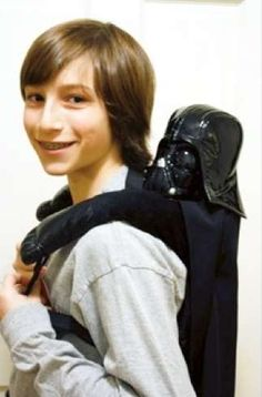 Darth Vader Backpack. oh lord.