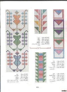 Palestinian #crossstitch charts