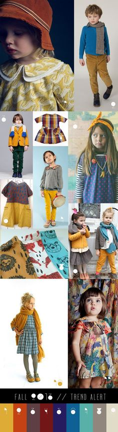 fall2013- trend alert- kids fashion- color combination @Stephanie Close Matthew  check out your photo :)