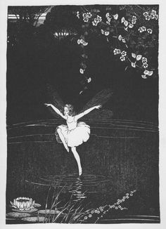 Ida Rentoul Outhwaite 'The Dragon fly Fairy' illustration, 1931 | eBay