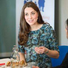 Kate Middleton recently opened up about her second pregnancy and had the cutest encounter with a ...