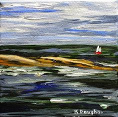 A SLICE OF LIFE: Sailing Pemaquid. New Listing on Daily Paintworks