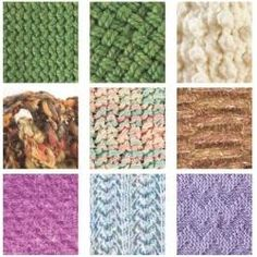 Loom Knitting Stitches. What a great blog! It has so many more links to learn how to knit with a loom resources. Must pin more!