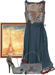"""""""On a Date in Paris"""" by maggiesuedesigns ❤ liked on Polyvore"""