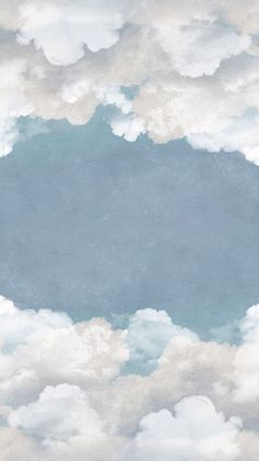Cuddle Clouds, Ceiling Open up the ceiling and fly away among the clouds. Let the air inside for a free mind. Cute Patterns Wallpaper, Aesthetic Pastel Wallpaper, Aesthetic Backgrounds, Aesthetic Wallpapers, Blog Backgrounds, Cloud Wallpaper, Iphone Background Wallpaper, Painting Wallpaper, Watercolor Background