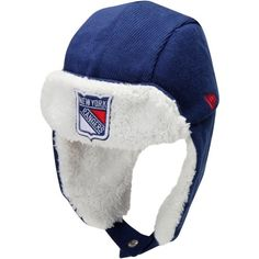 0047bd315 New Era New York Rangers Infant Trapper Hat - Royal Blue