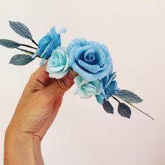 "Petal & Bird ( ""Oooo pretty 🌸if I do say so myself Paper Roses, Flower Crown, Bird, Pretty, Instagram Posts, Handmade, Crown Flower, Floral Wreath, Hand Made"