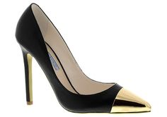 Just Added to the Wish list. ADELE by Tony Bianco in Black/Gold.