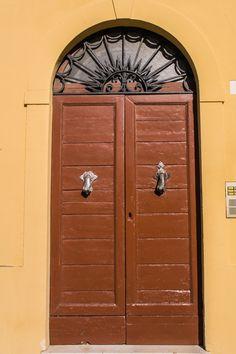 Door in Senigallia, Marche Region, Italy