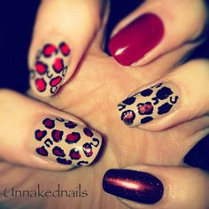 Love the designs on nails!  #iwantlongernails