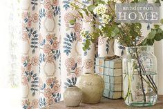 Tecidos Sanderson, colecção Maida. À venda na Nova Decorativa! #decoração #tecidos #homedecor #fabrics #Sanderson