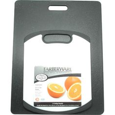 Farberware 2-Piece Poly-Granite Non-Slip Cutting Board Set. Walmart $ 13